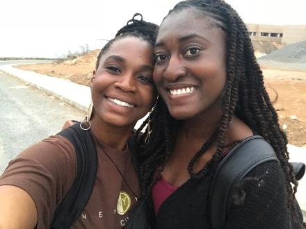 My beautiful friend Temi was an angel during my breakdowns