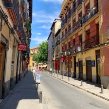 My calle in Madrid